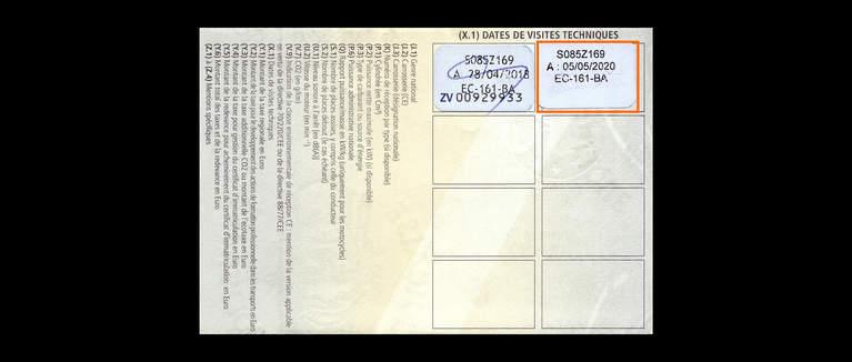 carte grise controle technique plus de 6 mois Code de la route   Contrôle technique   Le contrôle technique ; le